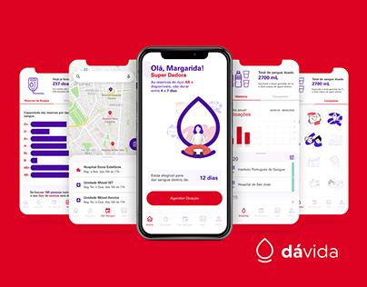 DáVida - Blood Donation App