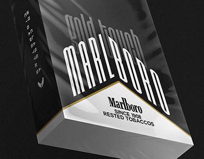 Restyling Marlboro • Marlboro Gold Touch redesign