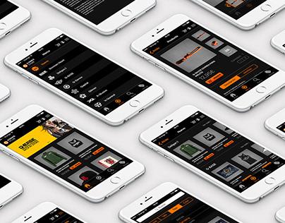 Mobile App Q-Dance Store