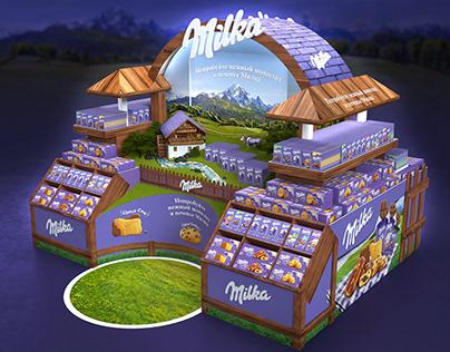 Milka. Альпийский бренд остров