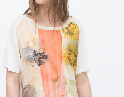 Zara / Summer Time Flowers.