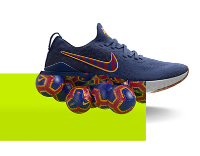 Nike Epic React - Football