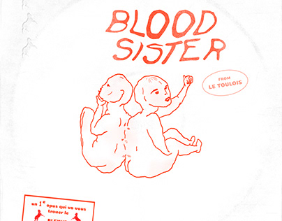 Blood sister - album cover