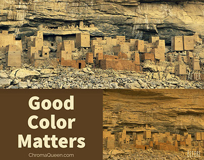 Color Correcting Landscape Photography