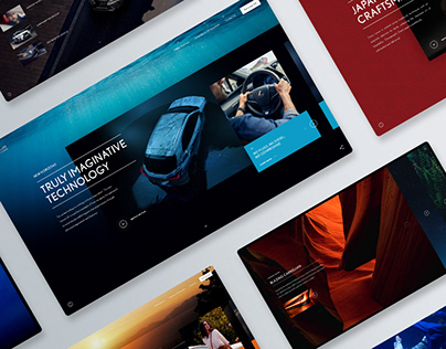 Lexus - New Horizons Campaign - Web Design