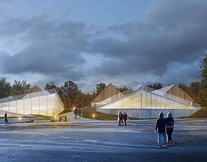 Proposal for Automotive Museum in Poznań