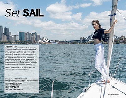 Set Sail - FADDY Magazine - Issue 6 Vol 4