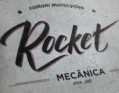 Rocket - Naming, Identidade Visual, Lettering, Branding