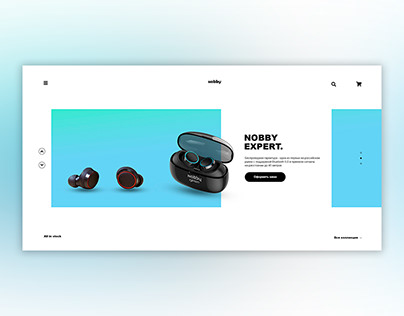 Landing page Nobby Expert