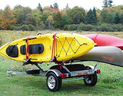 Malone MicroSport Kayak Trailer Review