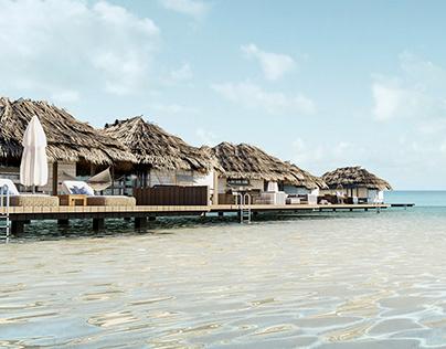 Maldives House I Gili Lankanfush Visual