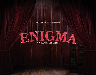 Affiche Enigma - Paris