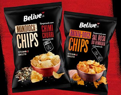 Chips Belive e BR Spices