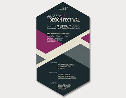 Branding Identity Wawa Design Festival