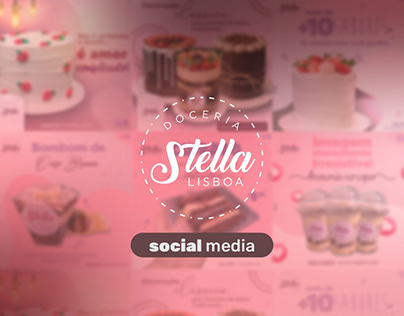 Doceria Stella Lisboa │ Social Media