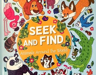 Seek & Find: Animals Around the World