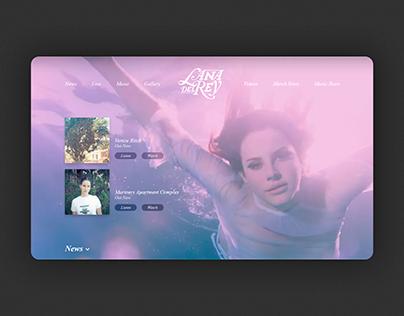 Lana Del Rey Website