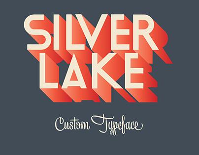 Silver lake - Custom typeface