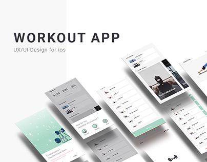 Workout App - UX/UI Design