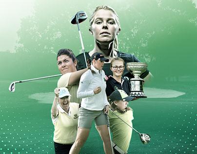 Irish Ladies Golf Union Brand Work