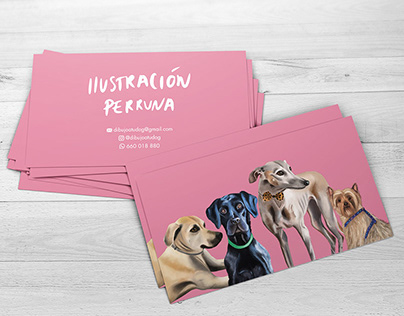 Business Card Design & Illustration