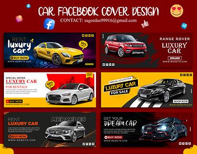 Car Facebook Cover Design