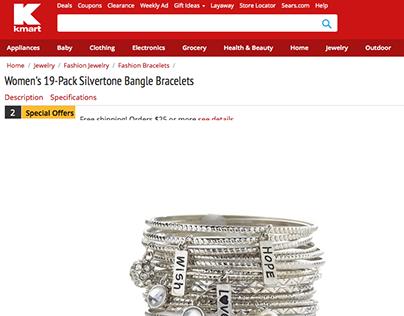 K-Mart Jewelry Stylist: Off Figure Photo Shoot