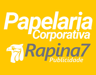Papelaria Rapina7 Publicidade