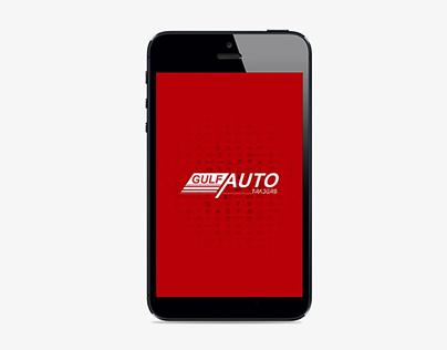 Gulf Auto Traders Mobile App Design