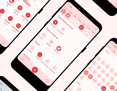 A period tracking app
