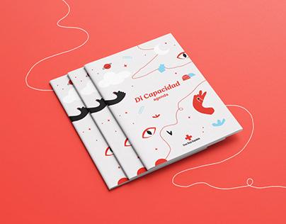 Diseño de agenda discapacidad, Cruz Roja Alicante