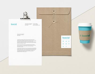 Bsocial / Brand identity