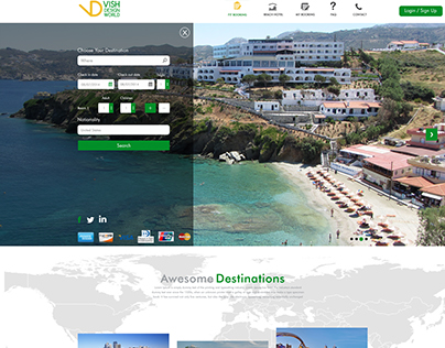 Hotels & Tourism Booking Online