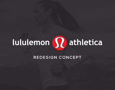 Lululemon Athletica Redesign Concept