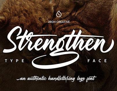 Strengthen Typeface