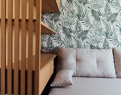 Квартира в современном стиле с добавлением классики