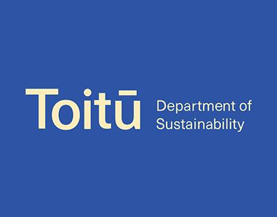 Toitu - Department of Sustainability: Annual Report