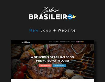 Sabor Brasileiro - Logo + Website