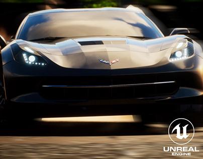 UE4   Corvette