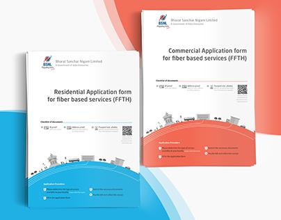 BSNL Application form redesign