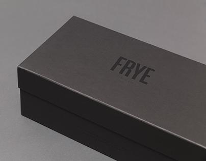 Frye Made in Italy Branding