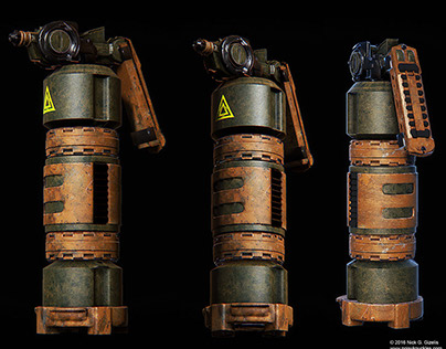 Tactical Hand Grenades Concepts