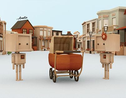Amelia-Animated Short Film