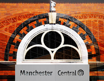 Manchester Central Photomontage
