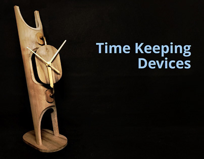 Time Keeping Devices in Bamboo