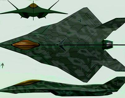 6 th generation jet fighter v2