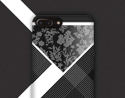 Traditional Japanese patterns / iPhone case