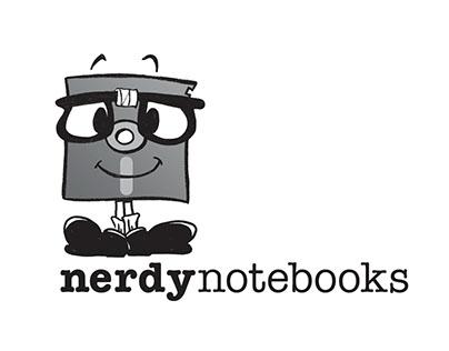 Nerdy Notebooks Branding