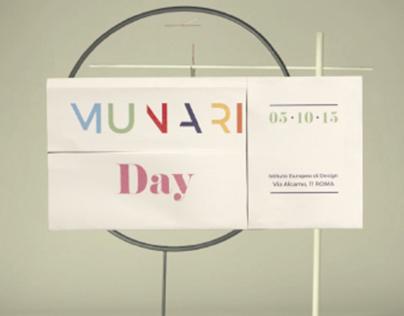 Munari Day promo