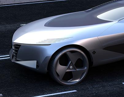 Alfa Romeo Freccia concept